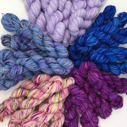 Peggy Jane Fibers Purple Haze mini set